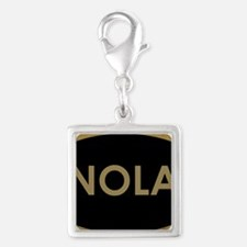 NOLA BLACK AND GOLD Charms
