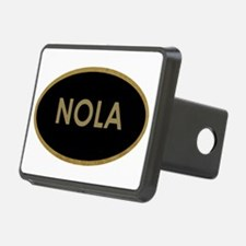 NOLA BLACK AND GOLD Hitch Cover