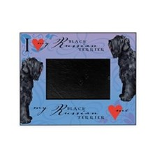 Black Russian Terrier Picture Frame