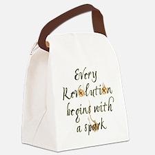 Unique Catchingfiremovie Canvas Lunch Bag