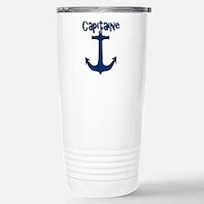 Capitaine ancre de bate Travel Mug