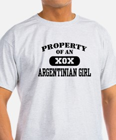 Property of an Argentinian Girl T-Shirt
