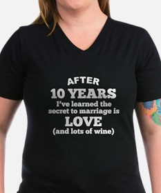 10 Years Of Love And Wine T-Shirt