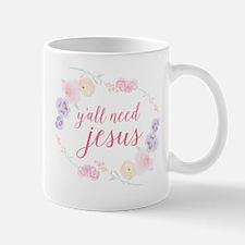 Y'all Need Jesus Mug