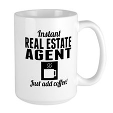 Instant Real Estate Agent Just Add Coffee Mugs