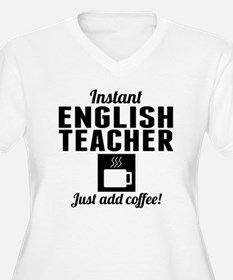 Instant English Teacher Just Add Coffee Plus Size