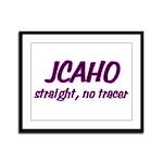 JCAHO Tracer 02 Framed Panel Print