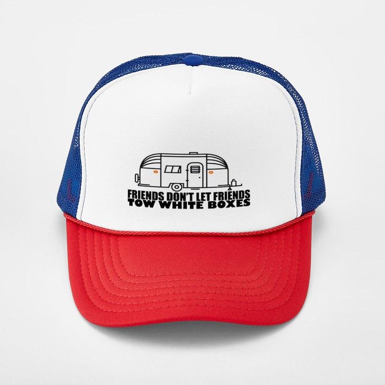 Cute Travel trailer Trucker Hat