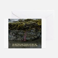 Hold On Greeting Cards