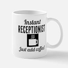 Instant Receptionist Just Add Coffee Mugs