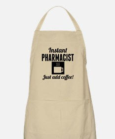 Instant Pharmacist Just Add Coffee Apron