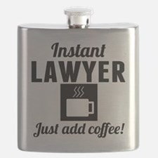 Instant Lawyer Just Add Coffee Flask
