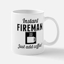 Instant Fireman Just Add Coffee Mugs