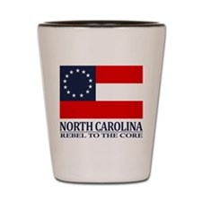 North Carolina RTTC Shot Glass