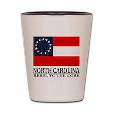 North Carolina RTTC Shot Glass