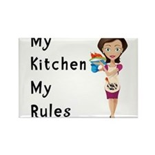 Cute Kitchen Rectangle Magnet
