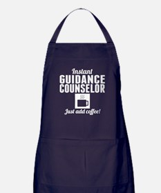 Instant Guidance Counselor Just Add Coffee Apron (