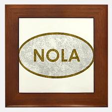 NOLA Stone Framed Tile