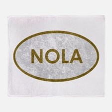 NOLA Stone Throw Blanket
