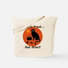 Got Mice Halloween Cat Tote Bag