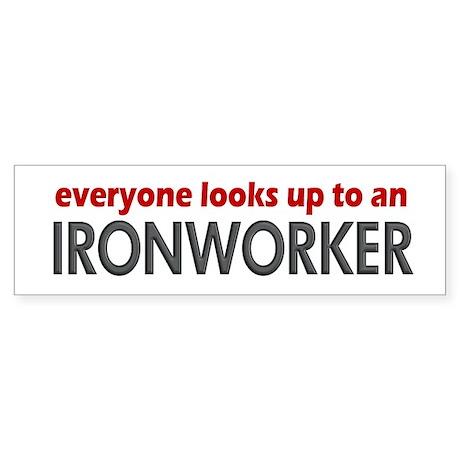 Ironworker Bumper Sticker