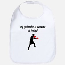 My Godmother Is Awesome At Boxing Bib