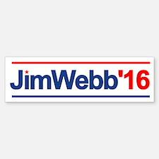 Jim Webb 16 Bumper Bumper Bumper Sticker