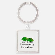 SENIOR MOMENTS - I'M SO FAR OVER T Square Keychain