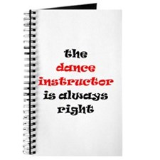 dance instructor right Journal