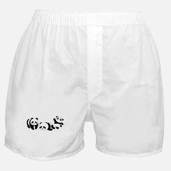 Three little giant pandas Boxer Shorts