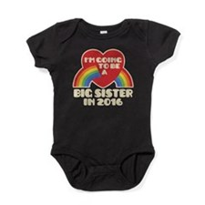 Big Sister 2016 Baby Bodysuit