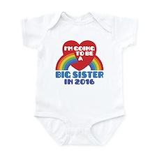 Big Sister 2016 Infant Bodysuit