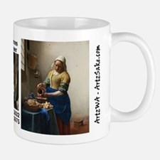 The Kitchen Maid by Vermeer Mug