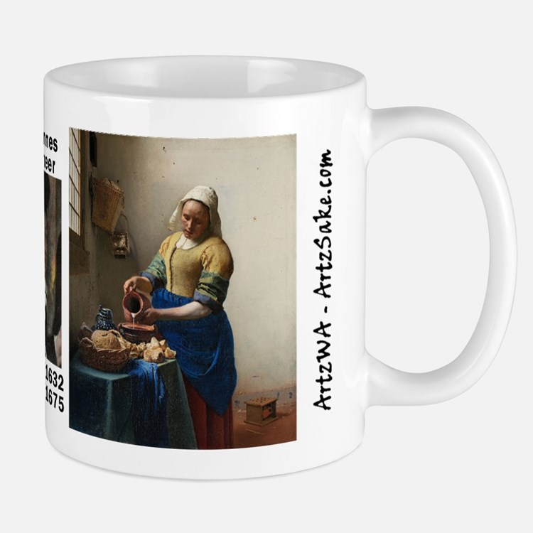 The Kitchen Maid by Vermeer Mug