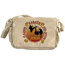 Cajun Karate Messenger Bag