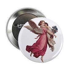 "Vintage Christmas, Victoria 2.25"" Button (10 pack)"