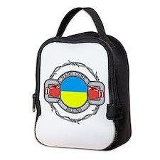 Hard Core Ukraine Boxing Neoprene Lunch Bag