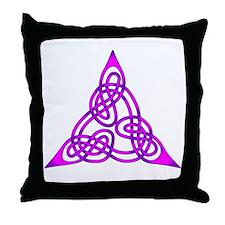 Celtic Knot 65 Throw Pillow