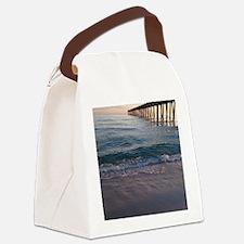 Pensacola Pier Canvas Lunch Bag