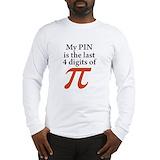 Pi Long Sleeve T-shirts