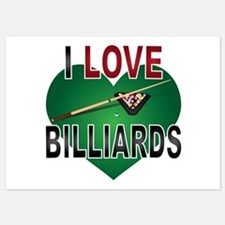 Love Billiards Invitations