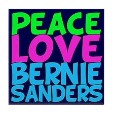 Bernie Sanders Love Tile Coaster