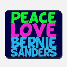 Bernie Sanders Love Mousepad