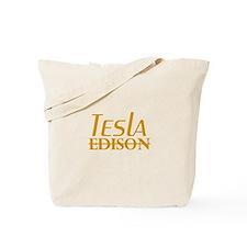 Nikola Tesla Edison Tote Bag