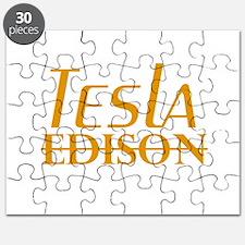Nikola Tesla Edison Puzzle