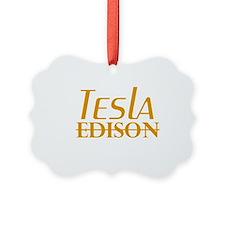 Nikola Tesla Edison Ornament
