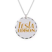 Nikola Tesla Edison Necklace