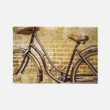 romantic street vintage bike Magnets