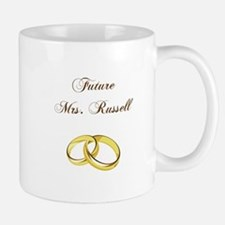 FUTURE MRS. RUSSELL Mugs