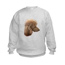 Unique Red poodle Sweatshirt